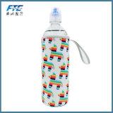 изготовленный на заказ охладитель держателя бутылки воды пива неопрена логоса 300ml с ручкой