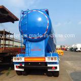 China Preço Factroy Tanque de cimento a granel semi reboque com formato de V