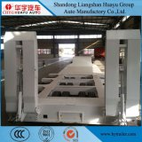 70ton/80ton/90ton/100ton zeichnet niedrigen Bett-halb Schlussteil mit hydraulischer Strichleiter/Ramper