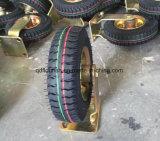 "8 "" x2.50-4 압축 공기를 넣은 고무 산업 피마자 바퀴"