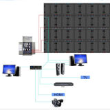 56屋外広告のデジタルLED表示は高品質P10 LED表示を選別する
