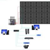 56 visualización de LED de la alta calidad P10 de las pantallas de visualización de LED de la publicidad al aire libre Digital