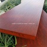 25mm d'épaisseur du grain du bois de ciment de fibre terrasse extérieure Flooring Conseil