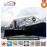 Tenda di alluminio esterna di evento del blocco per grafici con la parte superiore libera per il lancio di nuovo prodotto di alta classe