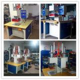 Máquina de fusión de alta frecuencia para la fabricación de la caja del teléfono de cuero, soldador caliente de la prensa