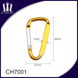 飾り金具のアルミニウムKeychainクリップCarabinerのホック