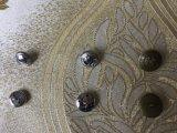 Bouton de queue de fixation de couture en laiton de métal pour enduire