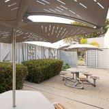 L'aluminium anodisé de feuilles perforées pour la décoration