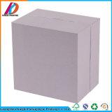 Couvercle de papier de carton de grand dos blanc et cadre de base pour le produit de beauté