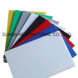 Livro branco da placa de espuma de PVC Celuka rígida, Folha de PVC, material de impressão