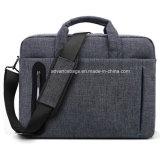 Saco a tiracolo Notebook personalizado lado calculador de airbag Maleta Documento Saco para computador portátil com alças