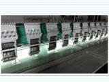 Máquina plana automatizada grande del bordado para el bordado del plano/del casquillo