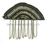 La lega in rilievo della zona di Applique delle teste del pirata della spalla dei Sequins concatena il distintivo