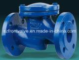 Fundición de hierro dúctil y válvulas de retención de bola con brida