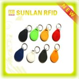 Free Samplesの13.56MHz Rewritable ABS Mf1 1k RFID Keychain /Key Tag /Keyfob