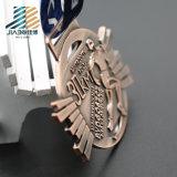 Медали Jujitsu металла навальных деталей античные бронзовые изготовленный на заказ с тесемкой