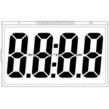 Экран LCD числа Tn Stn 4 индикации LCD