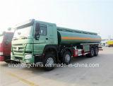 25m3 Sinotruk HOWO 8X4 연료 또는 석유 탱크 Truck/371HP 유조선