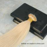 Estensione Nano indiana diritta serica poco costosa all'ingrosso dei capelli dell'anello del grado 6A 613# Remy di alta qualità
