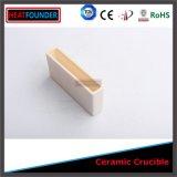 Alumine à haute densité rectangulaire de creuset