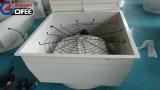 Liga de alumínio fundido de ventilação de lâminas do ventilador do Cone de fibra de vidro