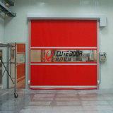 Porte horizontale rapide en aluminium à grande vitesse d'obturateur de rouleau en plastique