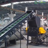 HDPE Flasche, die waschende trocknende Plastikaufbereitenmaschine zerquetscht