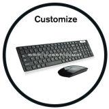 Изготовленный на заказ складывая мышь клавиатуры Bluetooth