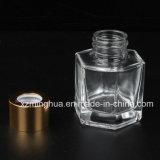 Frasco de vidro do difusor de Hexagonus com bujão de borracha
