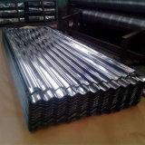 На заводе прямой продажи оцинкованный гофрированный цинк алюминиевого листа крыши