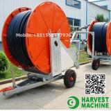 農業の用水系統か油圧ホースの巻き枠の潅漑機械