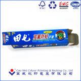 Empaquetado de papel de encargo experimentado del rectángulo de la crema dental del papel de imprenta de China 27 Yars