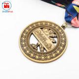 Types de sport de métal de haute qualité de médaille Marathon