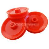 Disco rígido moldado aço revestido de poliuretano para impressão de borracha do Eixo do rolete de alimentação