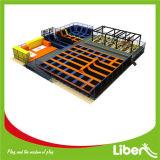 800 Sqm springende Park-Geräten-Handelstrampoline für Verkauf
