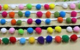 Более Эластичные кружева Pompon выбор цветов для украшения