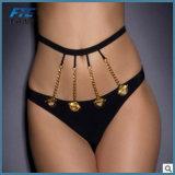 Normaler schwarzer reizvoller Form-Bikini-Badebekleidungs-BadeanzugBeachwear