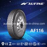 레이블 증명서 (9.00r20 10.00r20 11.00r20 11.00r22 12.00r20 12.00r24)를 가진 Aufine TBR 타이어