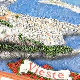 装飾のためのViesteの特別なイタリアのツーリストの記念品