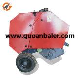 トラクターの販売のためのPtoによって運転される移動式小型円形の干し草の梱包機