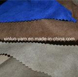 Ткань замши полиэфира для одежды/мешка/Upholsyery/перчаток