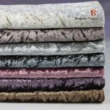 Haute qualité de la glace ondulée fleur Tissu Tissu/canapé en velours