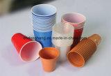 Prensa de batir del borde de la taza del papel y del plástico de Donghang con la cuenta