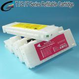 T6941 - T6945 Epson Surecolor T7070 T5050 T3070 인쇄기 잉크 카트리지를 위한 다시 채울 수 있는 잉크 카트리지 700ml