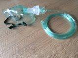 Utiliser un masque chirurgical Multi-Vent Diluter avec vert et blanc