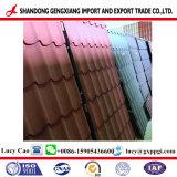 Tetto del galvalume della grinza e parete ondulati d'acciaio galvanizzati ricoperti colore di superficie