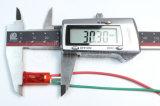 Пластичное 24V связывает проволокой индикаторную лампу (MDX-11AW)