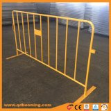 Gelbe Farben-Verkehrssicherheit-Barrikade