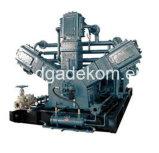 Compresor de aire sin aceite del tornillo portable de la presión del aumentador de presión del pistón (KSP55/37-30)