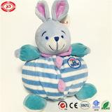Brinquedo seguro extravagante macio super do coelho do camarada do sono do cuidado do bebê
